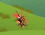 ミツバチの丸焼き